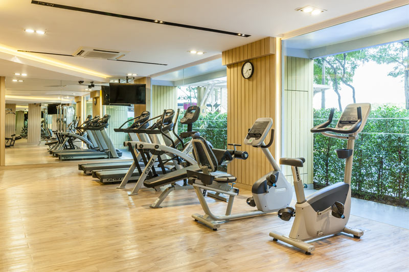 Pacific Park Hotel & Residence - Fitness Center
