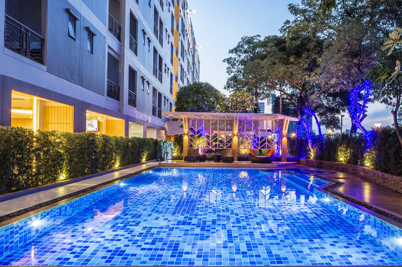 Pacific Park Hotel & Residence - Swimming Pool